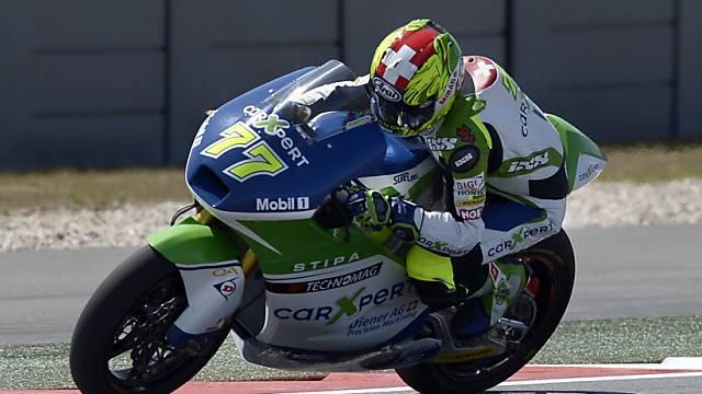 Dominique Aegerter während des Quali zum GP von Austin.