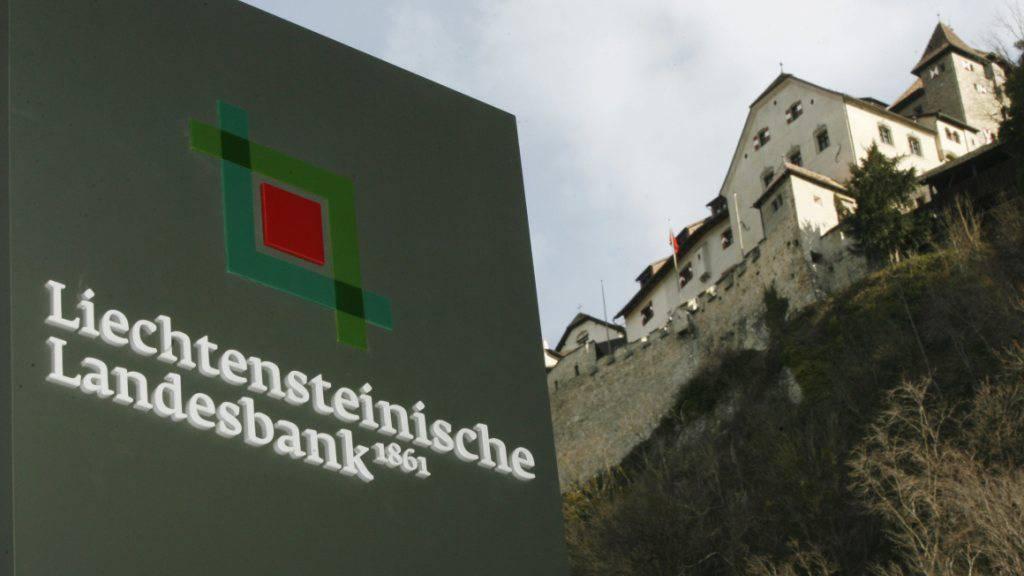 Meldet den Rücktritt des Präsidenten: Die Liechtensteinische Landesbank. (Archivbild)