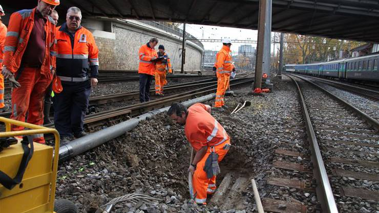 Gasunfall beim Bahnhof Bern