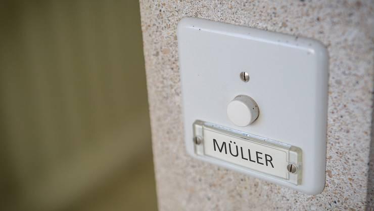 Im Kanton Solothurn gibt es am meisten Müller.