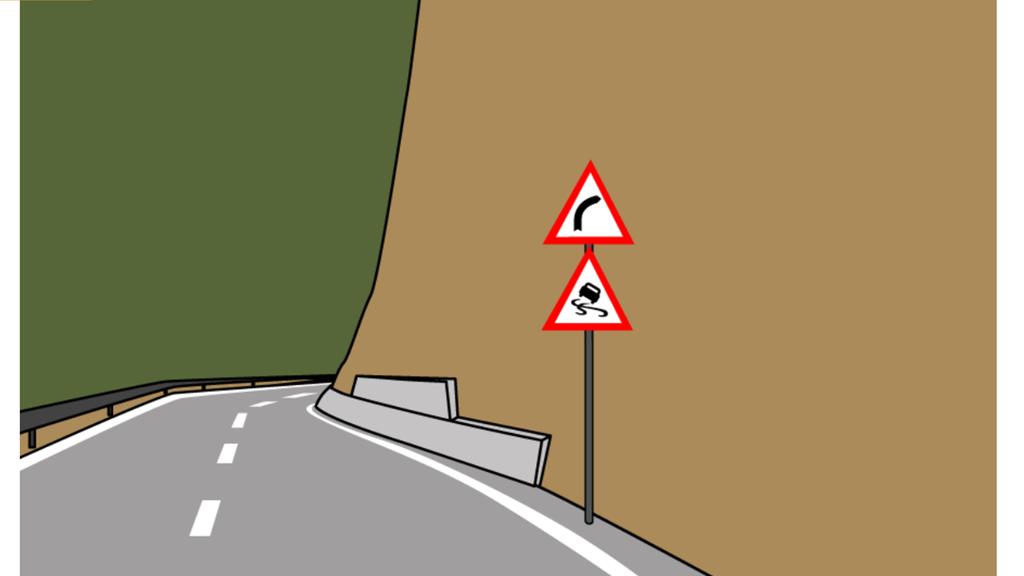 Was kommt hier auf den Autofahrer zu? Beweise dein Wissen im Quiz!