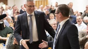 SVP-Parteitag: Wahl des neuen Präsidenten Andreas Glarner 2020
