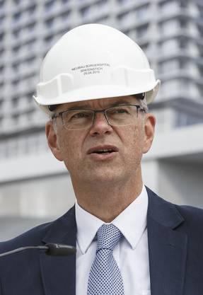 Martin Häusermann, CEO Solothurner Spitäler AG