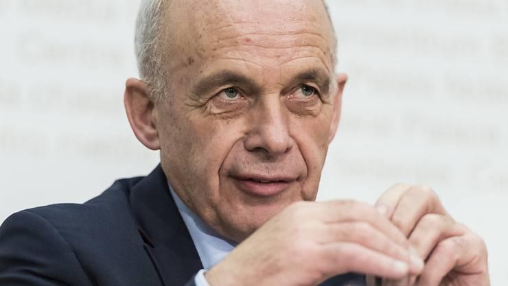 """""""Höchst dringlich"""": Finanzminister Ueli Maurer zur Unternehmenssteuerreform. (Archivbild)"""