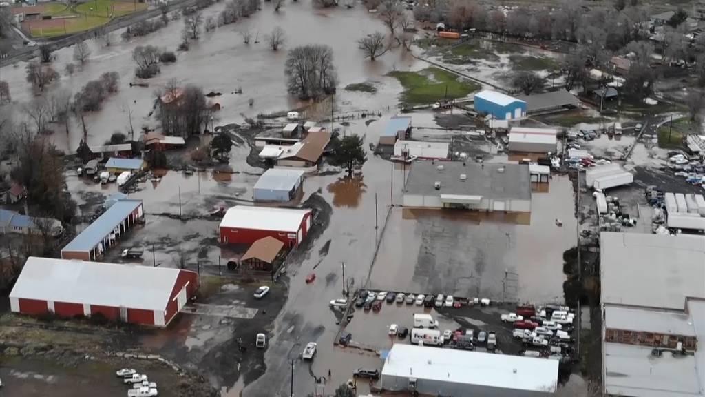 Schwere Überschwemmungen in Oregon