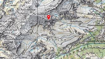 Ein Speedflyer ist am Donnerstag in der Schilthorn-Region tödlich verunglückt.