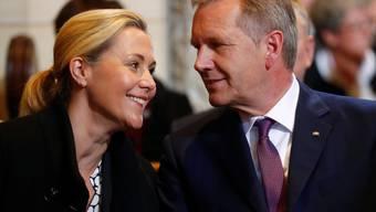 Der frühere deutsche Bundespräsident Christian Wulff  und seine Frau Bettina haben sich erneut getrennt. (Archivbild)