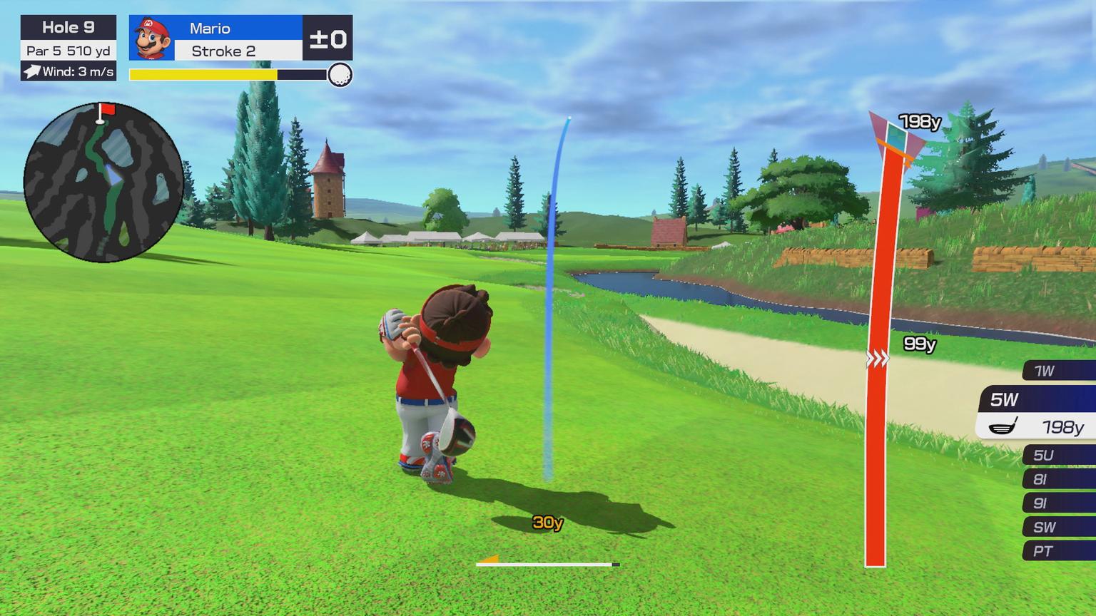Mario Golf Printscreen 1