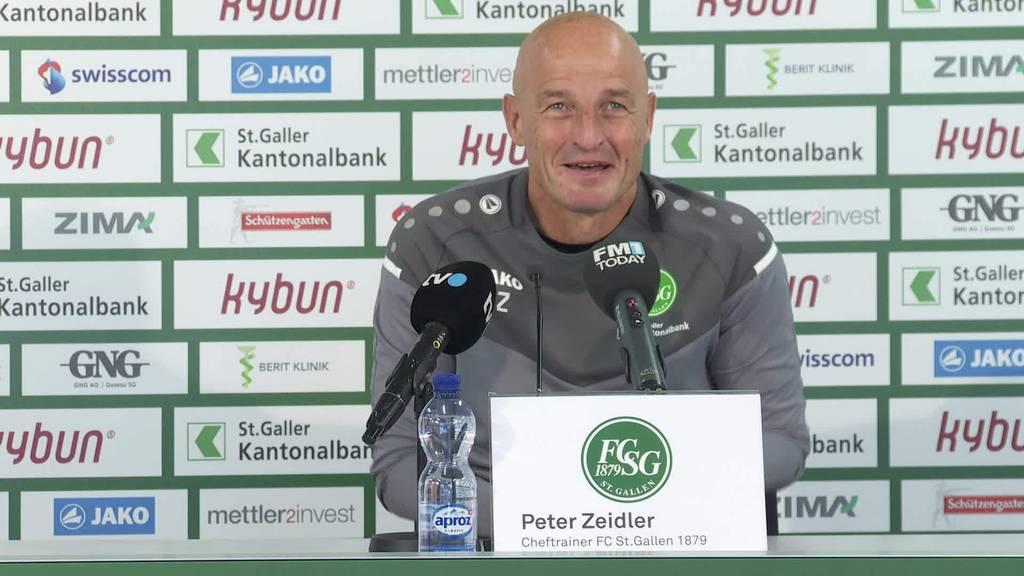 Frisch aus der Quarantäne: Alles offen beim FC St.Gallen