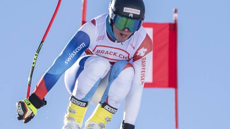 Alexis Monney ist der dritte Schweizer Junioren-Weltmeister in der Abfahrt hintereinander
