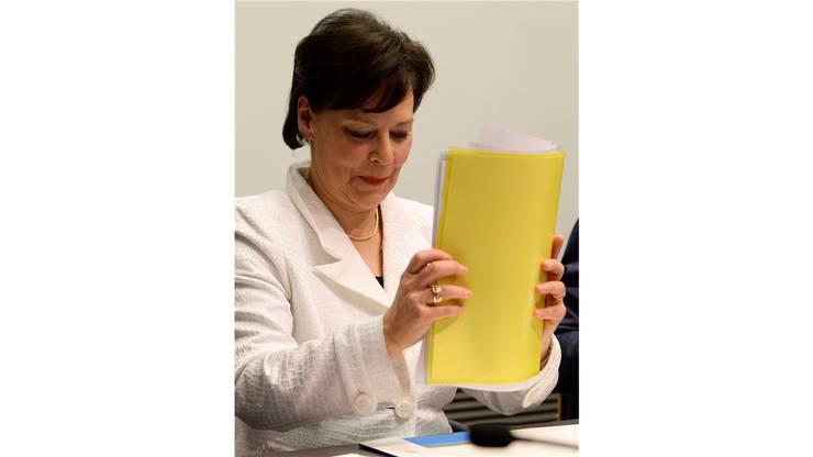 Regierungsrätin Ursula Gut (FDP) tritt bei den Wahlen 2015 nicht mehr an.key