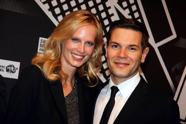 Topmodel Sarina Arnold mit Ehemann Raphael Fischer.