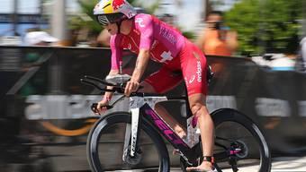 Daniela Ryf auf dem Weg zu ihrem vierten Triumph beim Ironman Hawaii