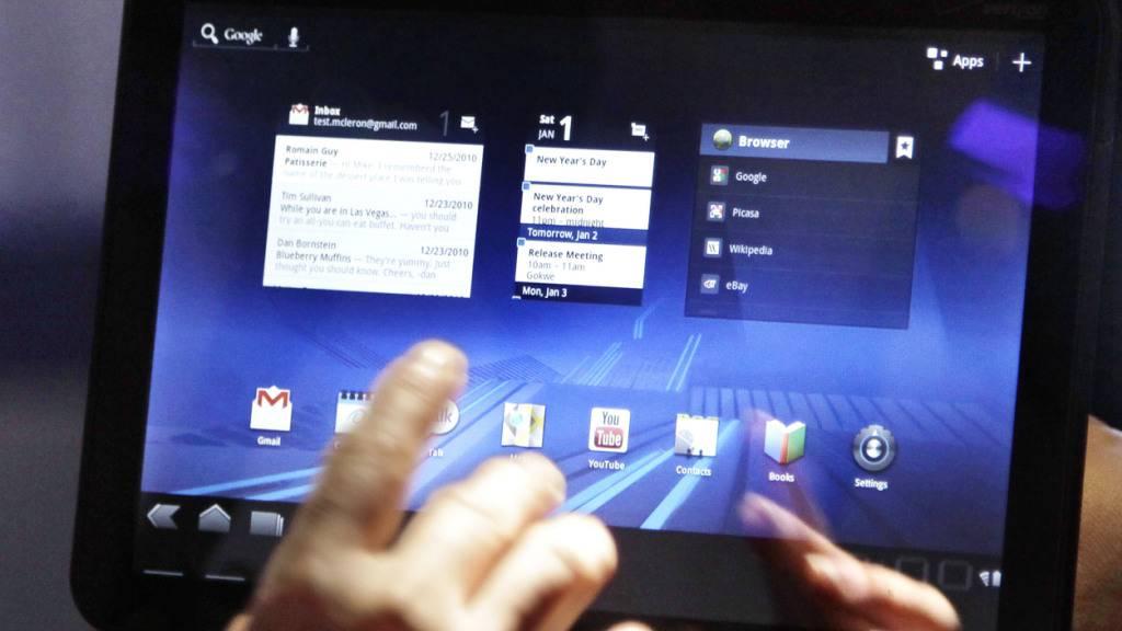 Mit einer Aktionswoche macht die Polizei auf Gefahren aufmerksam, die im Internet lauern. (Symbolbild).