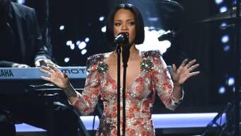 Rihanna tritt am Freitag im Zürcher Letzigrund auf. Unter strengeren Sicherheitsvorkehrungen. (Archivbild).