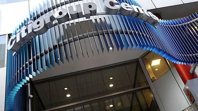 Eingang zum Citigroup-Hauptquartier in New York (Archiv)