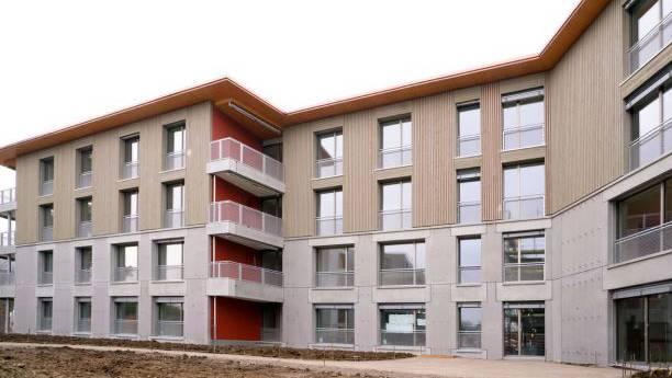 Alle Mieter im Haus A der Neubau-Siedlung Eyhof in Zürich-Albisrieden sind Nichtraucher.