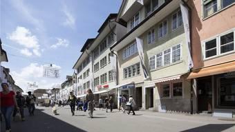 Noch nie waren die Sozialausgaben in Winterthur so hoch wie im letzten Jahr. Im Bild die Steinberggasse in der Altstadt. key