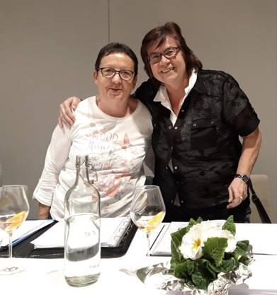 Die neue Präsidentin Luciana Grossenbacher und die neue Vize Präsidentin Yvonne Strazzini