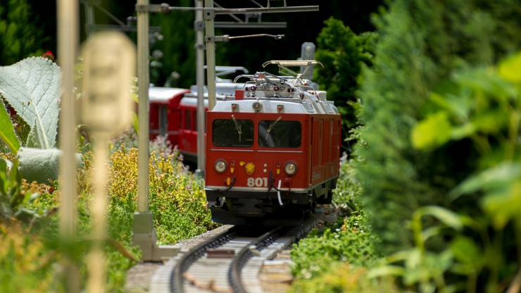 Der Bernina Express im Massstab 1:22.5
