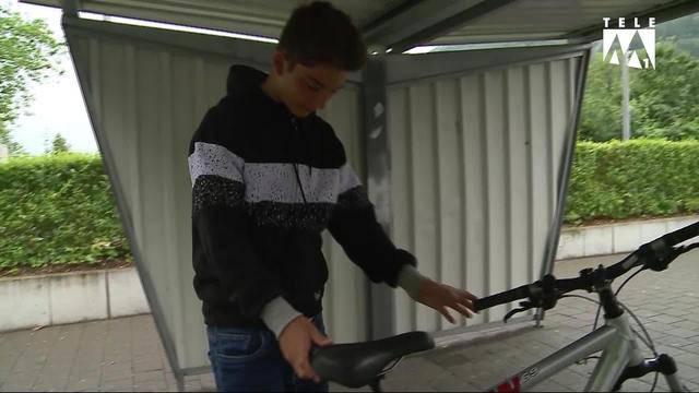 40 Velos in Aarburg beschädigt