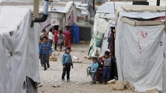 Schätzungen zufolge leben 1,2 Millionen registrierte syrische Flüchtlinge im Libanon.