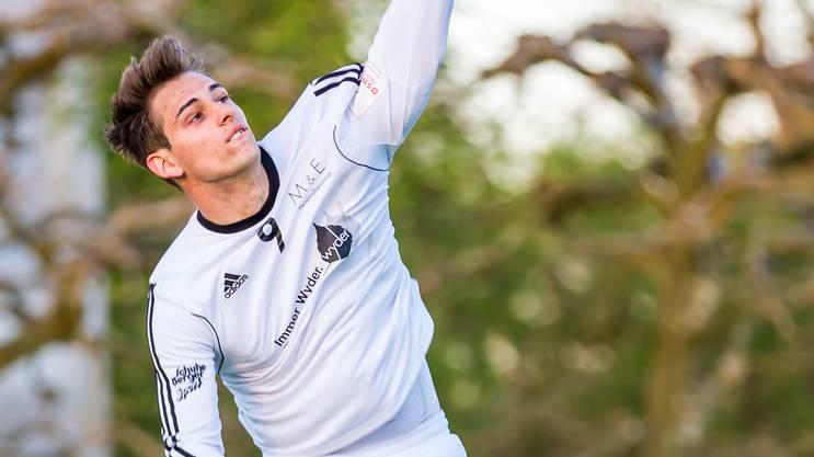 Angreifer Sascha Hagmann ist nach überstandener Verletzung wieder fester Bestandteil des NLA-Männerteams des STV Oberentfelden.