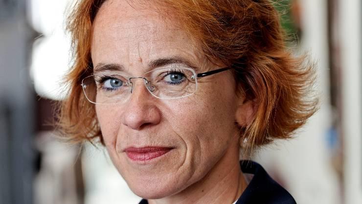 Die Basler SP-Bundesratskandidatin und Regierungsrätin Eva Herzog in Basel.