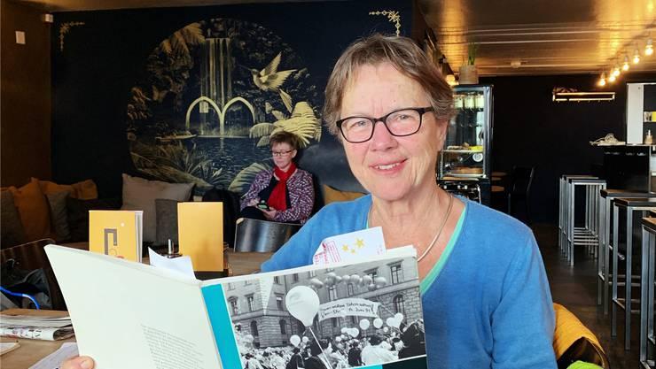 «Lieber gleich berechtigt als später», ist ein Slogan, an den sich Ruth Rüdlinger erinnert.