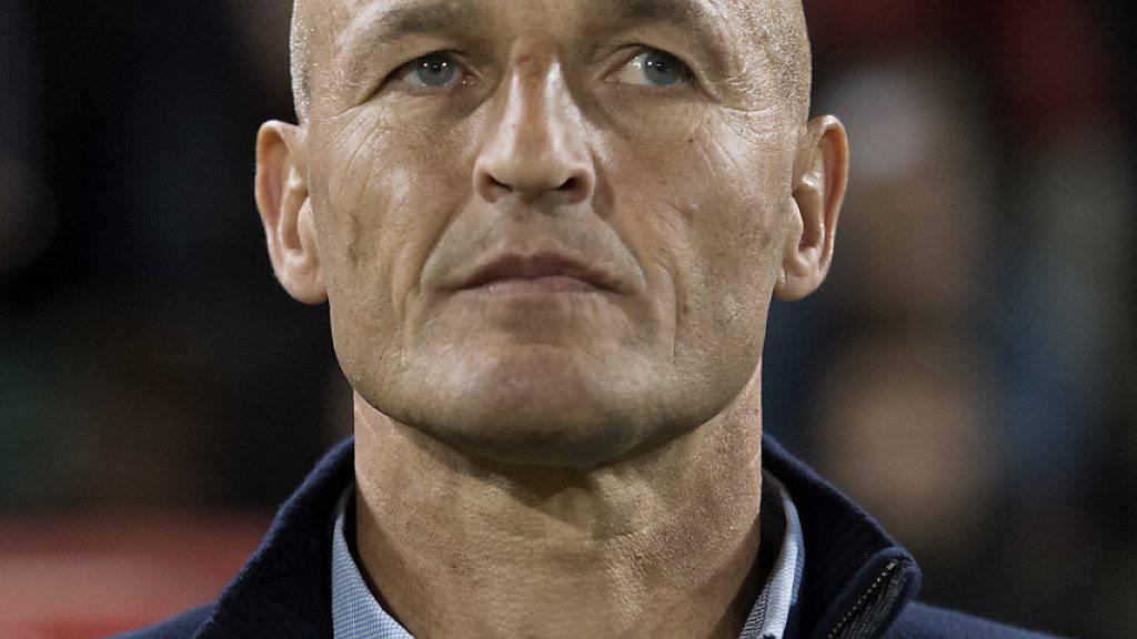 Stand in der Schweiz schon beim FC Sion an der Seitenlinie und soll im Sommer den FC St. Gallen übernehmen: Peter Zeidler