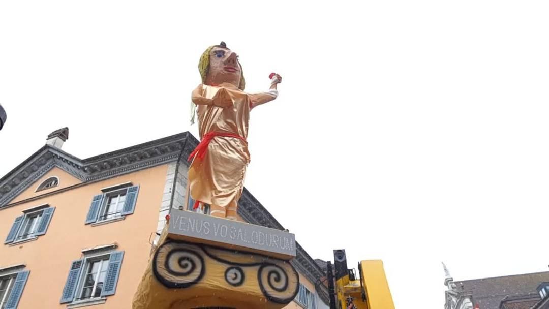 Solothurner Bööggin: «Wir bauten die Venus vo Salodurum»
