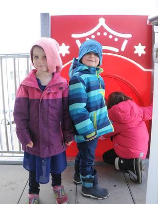 Für die Kinder ist die Rutsche das Highlight am Tag der offenen Tür.