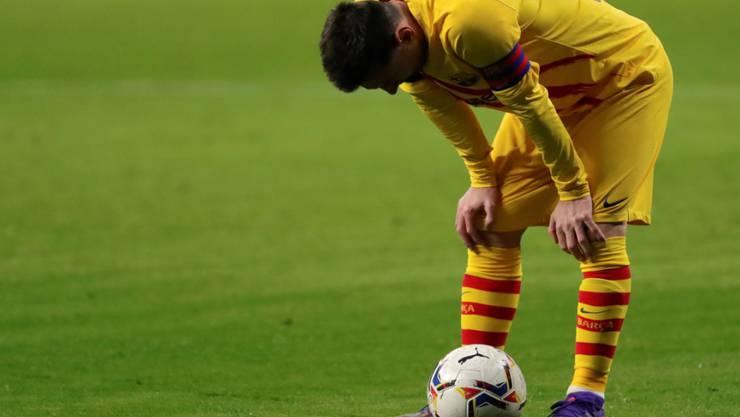Es war wieder kein Abend für Lionel Messi