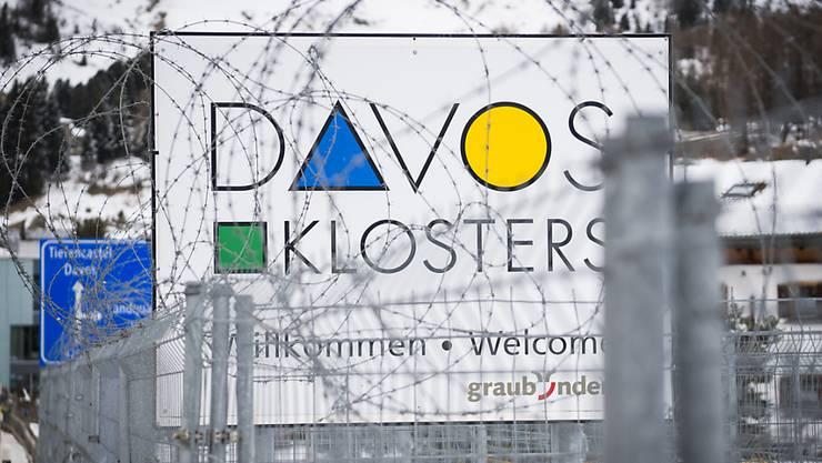 Davos gleicht während des WEF jeweils einer Festung. (Archiv)