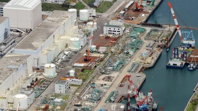Luftaufnahme von den Reaktoren in Fukushima (Archiv)