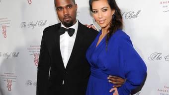 Kanye West und Kim Kardashian, noch ohne North West (Archiv)