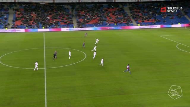 92. Tor für FC Basel 1893 von Kevin Bua (Assist: Alexander Fransson)
