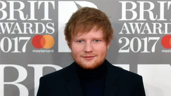 Ed Sheeran bei den Brit Awards 2017.