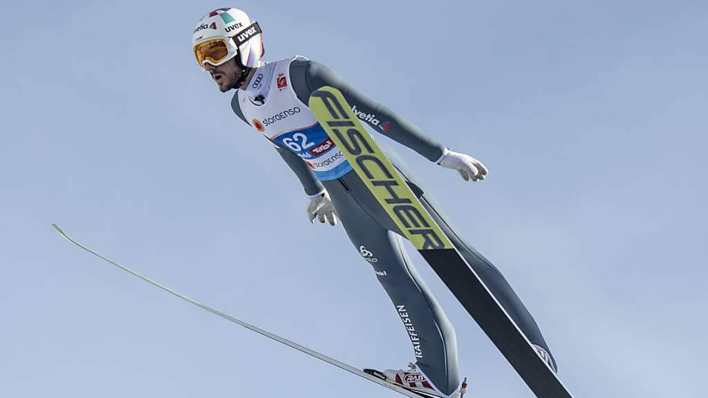 Killian Peier überraschte letzten Winter mit der WM-Bronzemedaille