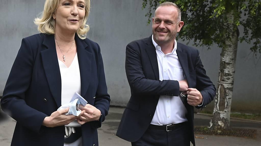 Schlappe für Frankreichs Rechtsextreme bei Regionalwahlen