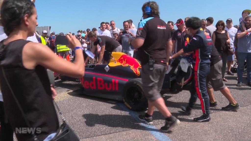 Red Bull Race Day während Klimanotstand?