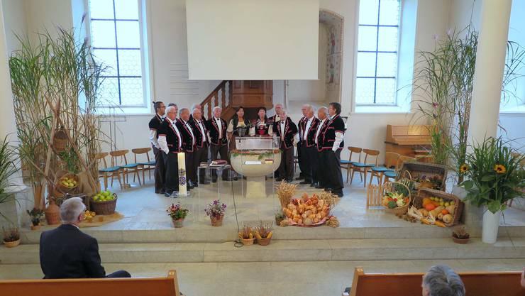 Erntedankgottesdienst in der Ref. Kirche Seon