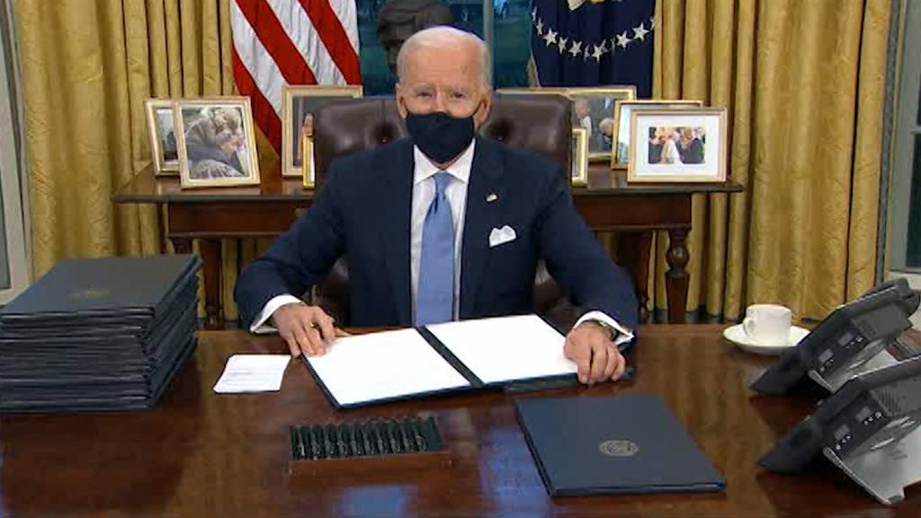 Maskenpflicht und Klimaabkommen - Die ersten Beschlüsse von Präsident Biden