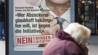 Die Junge SVP Aargau ist gegen die Abzocker-Initiative (Symbolbild)
