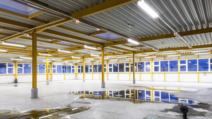 Die Grenchner Grafiktriennale wird in zwei verlassenen Industriegebäuden stattfinden