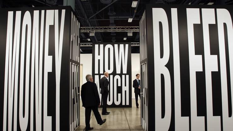 Die MCH Group organisiert unter anderem die Art Basel – im Bild eine Ausstellung in Miami.