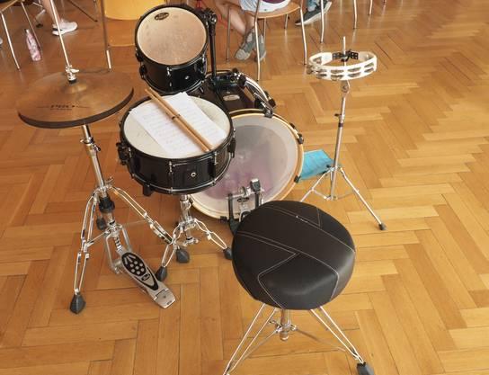 wo ist die Schlagzeugerin?
