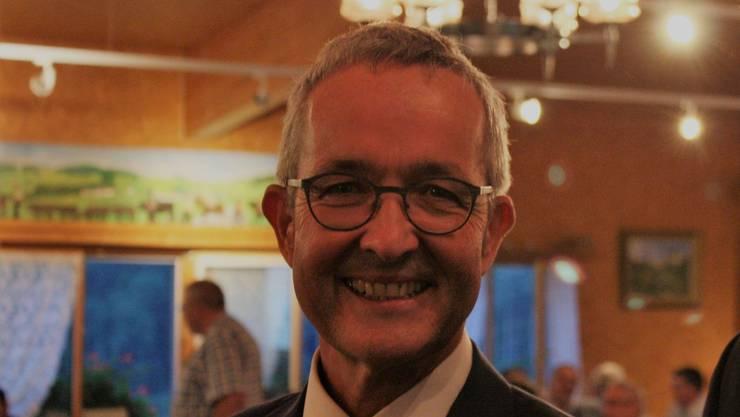 Thomas Weber hatte gut lachen: Die SVP stellt sich gesundheitspolitisch hinter ihn.