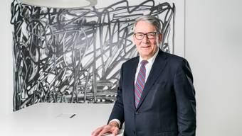 «Die Post ist nicht einfach ein privatwirtschaftliches Unternehmen ist wie jedes andere»: Verwaltungsratspräsident Urs Schwaller am Hauptsitz der Post in Bern.