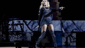 Rihanna bei ihrem Auftritt in Bilbao